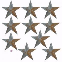 "PGM Irregular Rustic Barn Star (8"", 102-F) x 10 pcs"