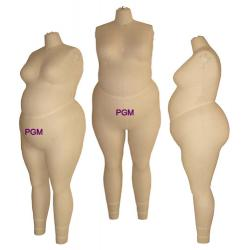 PGM Custom Made Large Women Form, Large Size Dress Form
