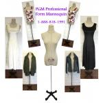 PGM Professional Female Dress Form Mannequin (602G)