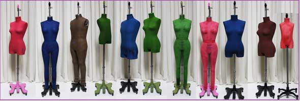 PGM Custom Made Color Dress Form Mannequin