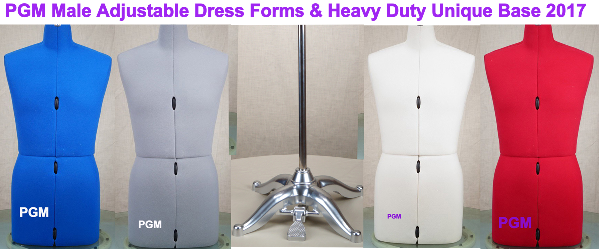 Delicieux PGM Male Adjustable Dress Form 2017 Sewing Mannequin Family Dress Form