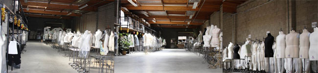 PGM big warehouse space, enable to provide quantity stock of Dress Forms, Paper Mache Dress Forms, Sewing Mannequins, Paper Mache Mannequin, Pattern Making Suppies.